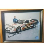 Ernie Irvan Signed 8x10 Racing Reflections Signed & Framed - $24.72