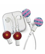 dekaSlides Earbuds + Combo Pack: Stars and Stripes + Red/Black Mandala M... - $21.87
