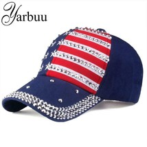 [YARBUU] The American flag Baseball caps 2018 fashion hat For men women ... - $12.42