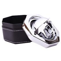 Creative Personality Fashion Stainless Steel With Cover The Ashtray(835B... - $15.64