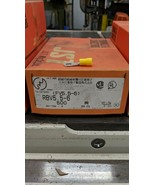 """500 Pack 12-10 Gauge Vinyl ring Crimp Terminals 1/4"""" 6mm Stud RBV5.5-6  ... - $44.55"""