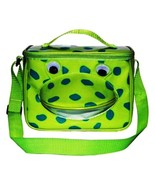 Frog Lunch Box Back to School Snack Bag by Sassafras Insulated Easy Clea... - $26.72