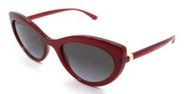 Dolce & Gabbana Sunglasses DG 6124 1551/8G 53-21-140 Bordeaux / Grey Gra... - $111.62