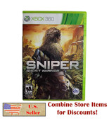Sniper: Ghost Warrior (Microsoft Xbox 360, 2010) Tested Complete in Box w Manual - $9.99