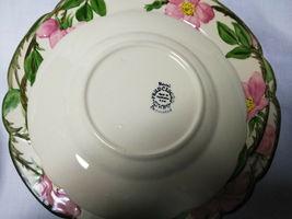 Vintage Franciscan China Desert Rose 4 piece plate set 3 size plates and 1 bowl image 5