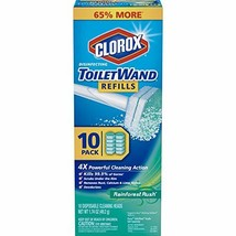 Clorox ToiletWand Disinfecting Refills, Disposable Wand Heads - Rainfore... - $14.06