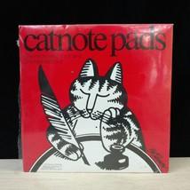 Kliban Cat Note Pad Paper CatNotes Memo List Kitschy 5x8 3x8 Vintage B - $37.40