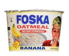 JAMAICAN FOSKA INSTANT BANANA OATMEAL PORRIDGE BREAKFAST HOT CEREAL ( PA... - $29.97