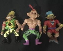 "TNT Treasure Troll 5"" Action Figures Battle stone Protectors 1992 ACE  R... - $23.75"