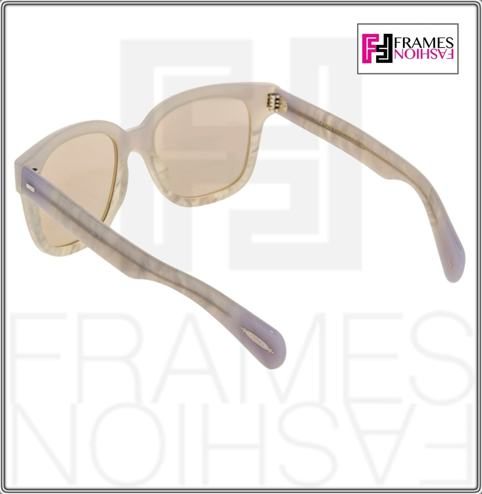 OLIVER PEOPLES Brinley OV5281SU Opal Pearl Gold Mirrored Sunglasses 5281 image 4