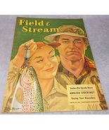 Field and Stream Outdoor Magazine August 1951 Miller High Life Browning ... - $9.95