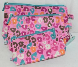 Room It Up Three Piece Cosmetic Toiletries Bags Small Medium Large image 2