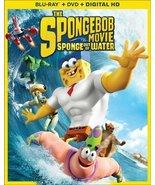 SPONGEBOB MOVIE: SPONGE OUT OF WATER [Blu-ray + DVD + Digital] - $5.95