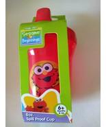 Sesame Street Beginnings 8 oz. Spill Proof Cup Red 6+ Months & Up BPA Fr... - $7.99