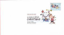 US #5021-30 2015 First-Class Issue Set Charlie Brown Snoopy Contemporary Christm image 4