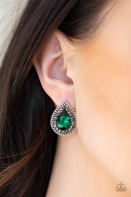 Debutante Debut - Green Earrings - $5.35