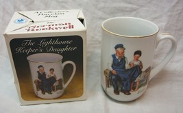 "VINTAGE Normal Rockwell LIGHTHOUSE KEEPER'S DAUGHTER TC1 4"" MUG CUP NEW - $14.85"