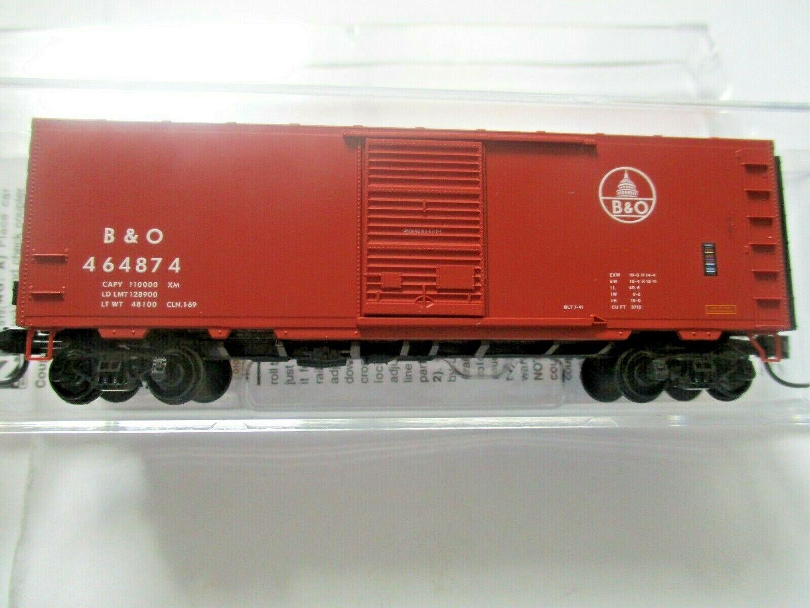 Micro-Trains # 07300290 Baltimore & Ohio 40' Standard Boxcar N-Scale