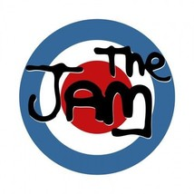Mod composite laminated circular wall plaque 25cm The Jam The Who Weller... - €28,20 EUR
