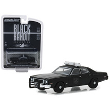 1975 Plymouth Fury Black Bandit Police \Black Bandit\ Series 20 1/64 Die... - $13.06