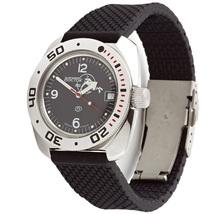 Vostok Amphibia 710634 Russian Military Divers Automatic Watch Black - $95.00