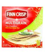 Keto snacks: low carb Finn Crisp Multigrain Sourdough Rye 7 oz 6 pack (8... - $28.22