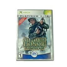 Medal of Honor Frontline Microsoft Xbox Video Game Complete Tested  - $11.99