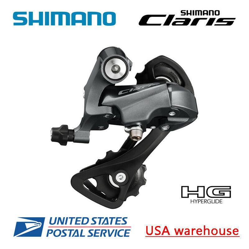Shimano Claris RD-R2000 SS GS 8-speed Rear Derailleur Short Medium Cage - $35.99
