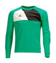 ADIDAS ASSITA 17 GK Jersey Shirt Goalie Soccer Green NFL Football Adult ... - $39.20