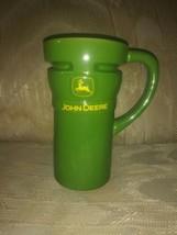Encore John Deere Coffee Mug Ceramic Licensed Product Green Yellow 6-1/4... - $23.75