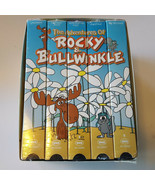 The Adventures of Rocky and Bullwinkle 1960s VHS Collector Box Set NEW S... - $34.64
