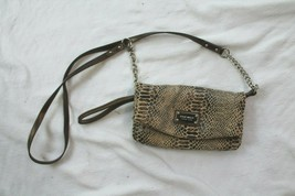 Nine West faux snake skin crossbody PURSE BAG  - $19.80