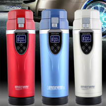 350ML Car Heating Cup Electric Kettle Mug Auto Heating Cup 12-24V Cars T... - $60.29