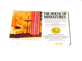The House Of Miniatures Doll House Furniture Kit 40013 Queen Anne Candle... - $7.03