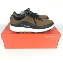 Nike Air Zoom Precision Wide Brown Black Golf Shoes Men's 866066-200 - $74.94