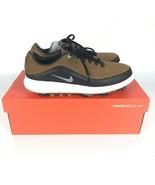 Nike Air Zoom Precision Wide Brown Black Golf Shoes Men's 866066-200 - $79.91