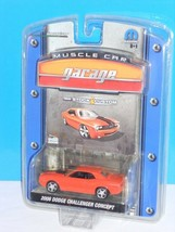 GreenLight 2007 Muscle Car Garage Series 4 2006 Dodge Challenger Concept Orange - $9.00