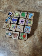 Lot Of 15 Hero Arts Gardening and Miscellaneous Stamps - $9.90