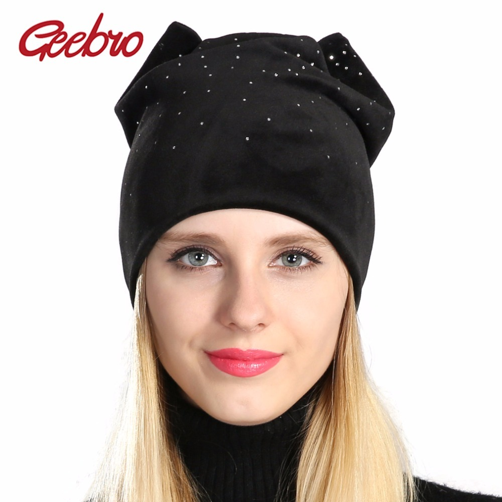 2a59b538f Geebro Women's Beanie Hat Winter Casual Warm and 50 similar items