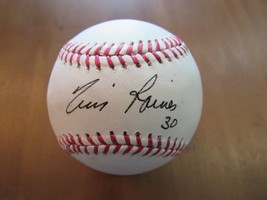 TIM RAINES EXPOS YANKEES WHITE SOX 3X WSC HOF SIGNED AUTO BASEBALL JSA A... - $98.99