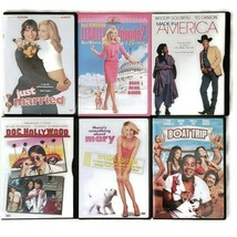 Comedy DVD Lot of 6 Legally Blonde Boat Trip Just Married Something Abou... - $19.99
