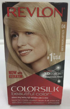 Revlon Colorsilk With Keratin Permanent Hair Dye #04 Ultra Light Natural Blonde  - $8.71