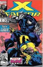 X-Factor Comic Book #81 Marvel Comics 1992 NEAR MINT NEW UNREAD - $2.99