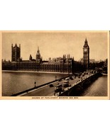 VINTAGE PHOTO POSTCARD -HOUSE OF PARLIAMENT SHOWING BIG BEN,UNITED KINGD... - $4.41