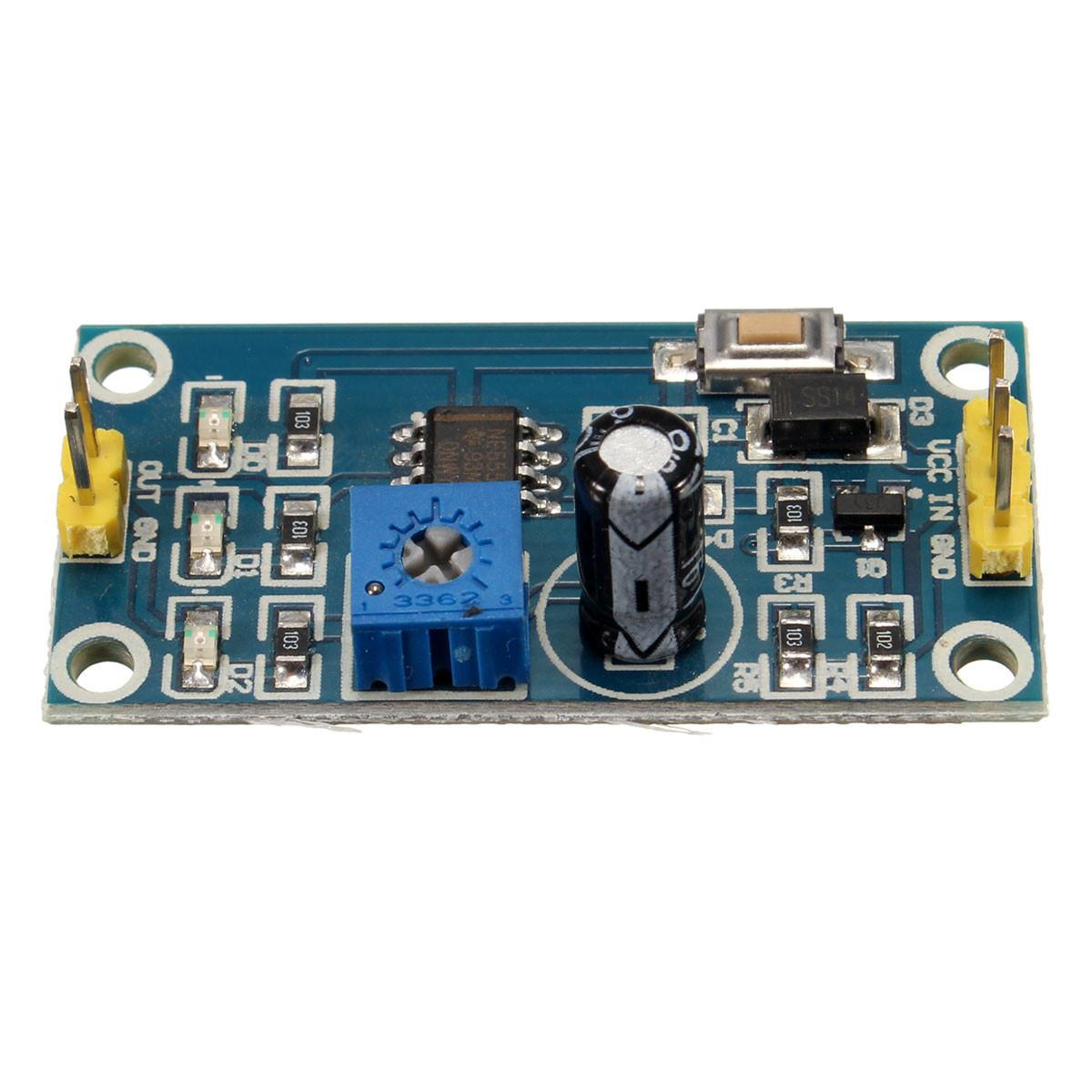 5pcs DC 5-12V Adjustable Delay Timer Switch NE555 Relay Shield Module image 3