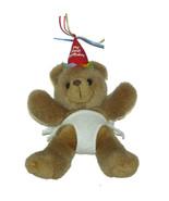 Carlton Cards My First Birthday Bear Diaper Plush Lovey 10 inch Stuffed ... - $19.68