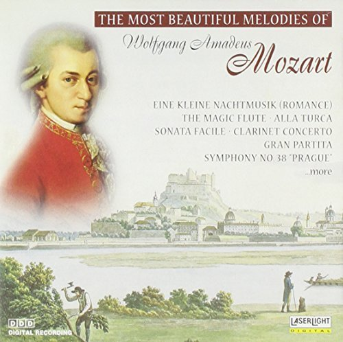 Most Beautiful Melodies of Mozart [Audio CD] Mozart, Wolfgang Amadeus; Hans Vonk