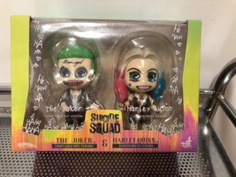 Hot Toys Suicide Squad Gold suit The joker & Harley Quinn Cosbaby dance ... - $35.59