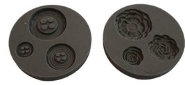 Stampin' Up Buttons & Blossoms Simply Pressed Molds, Set of 2