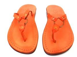 Leather Sandals for Women SATURN by SANDALIM Biblical Greek Roman Sandals - $39.44 CAD+